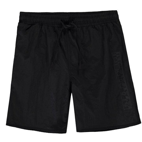 Napapijri Black Logo Swim Shorts