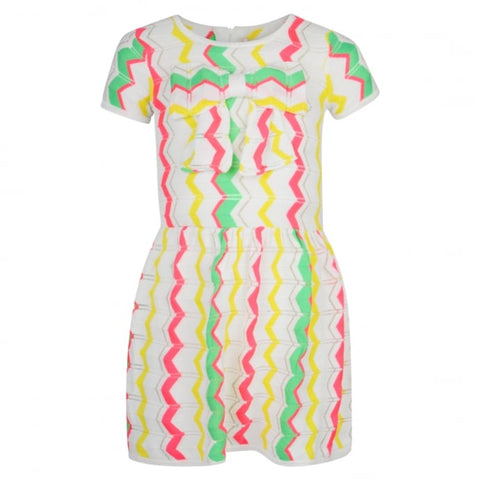Billieblush Zig Zag Print Dress