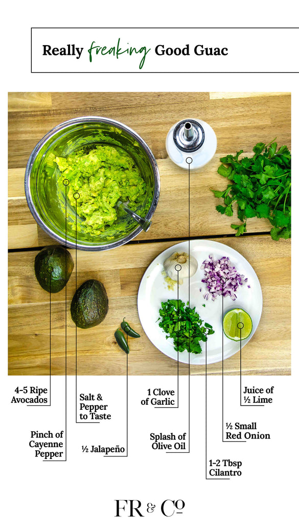 The Best Guac Recipe - FR and Company Lifestyle Blog