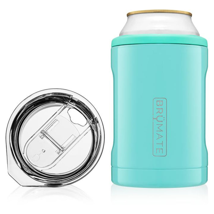 2-in-1 Can Cooler - Aqua
