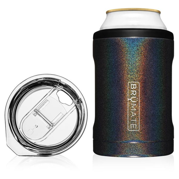 2-in-1 Can Cooler - Glitter Charcoal
