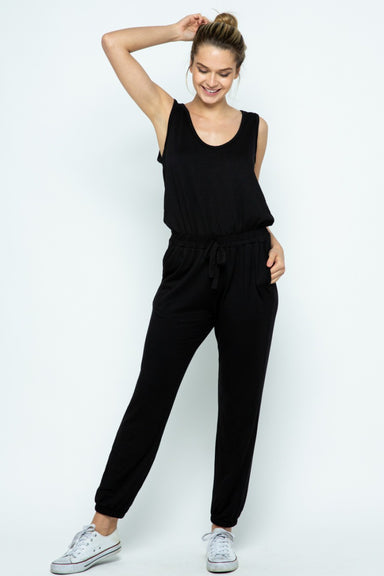Cara Terry Jumpsuit