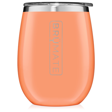 14oz Wine Tumbler - Peach