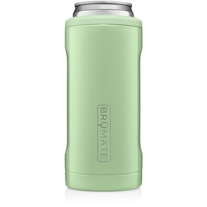 12oz Slim Can Cooler - Light Olive