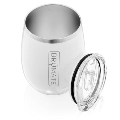 14oz Wine Tumbler - Ice White