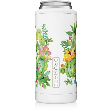 12oz Slim Can Cooler - Succulent