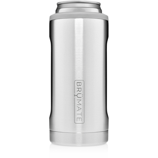 12oz Slim Can Cooler - Stainless