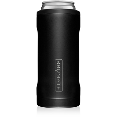 12oz Slim Can Cooler - Matte Black
