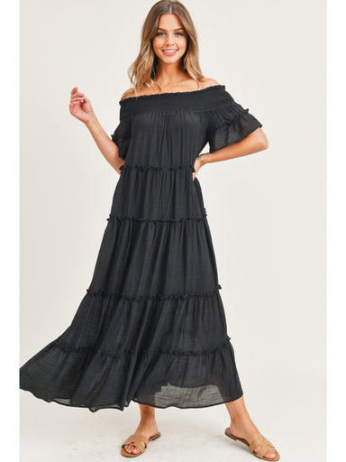 Daniella Maxi Dress - Black