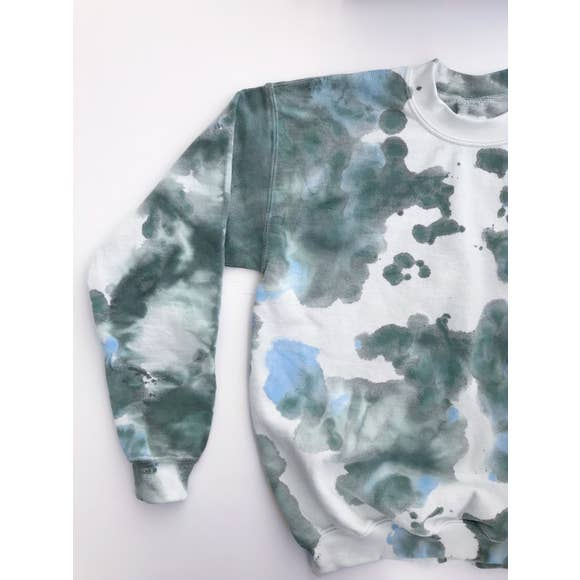 Marbled Fleece | Blue/Green