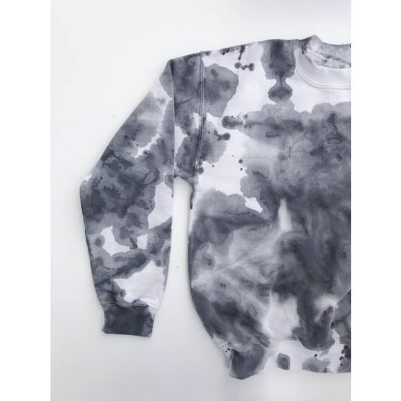 Marbled Fleece | Black/Grey