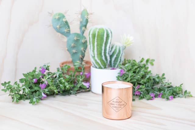 Cactus Flower and Desert Sage 8 oz Candle