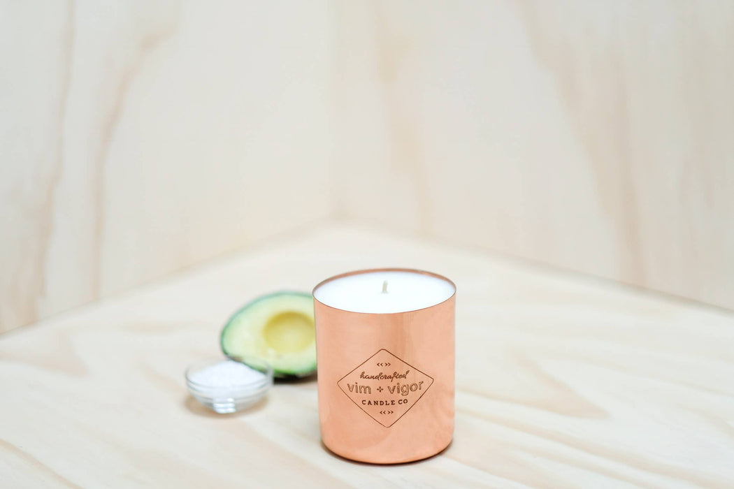 Sea Salt and Avocado 4 oz Candle