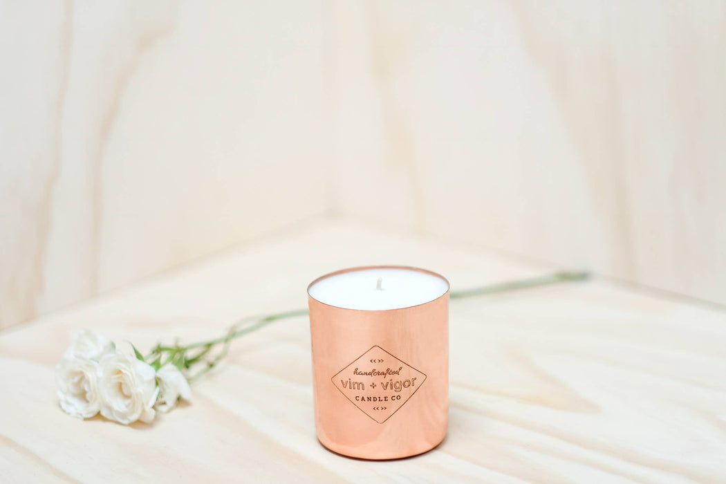 Rose and Amber 8 oz Candle