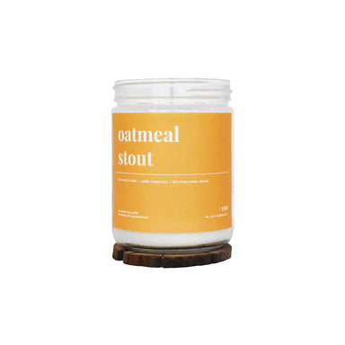 Oatmeal Stout Soy Candle - 16oz