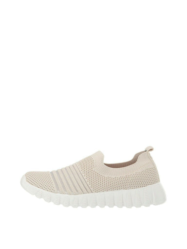 Nude Slip on Athletic Sneaker