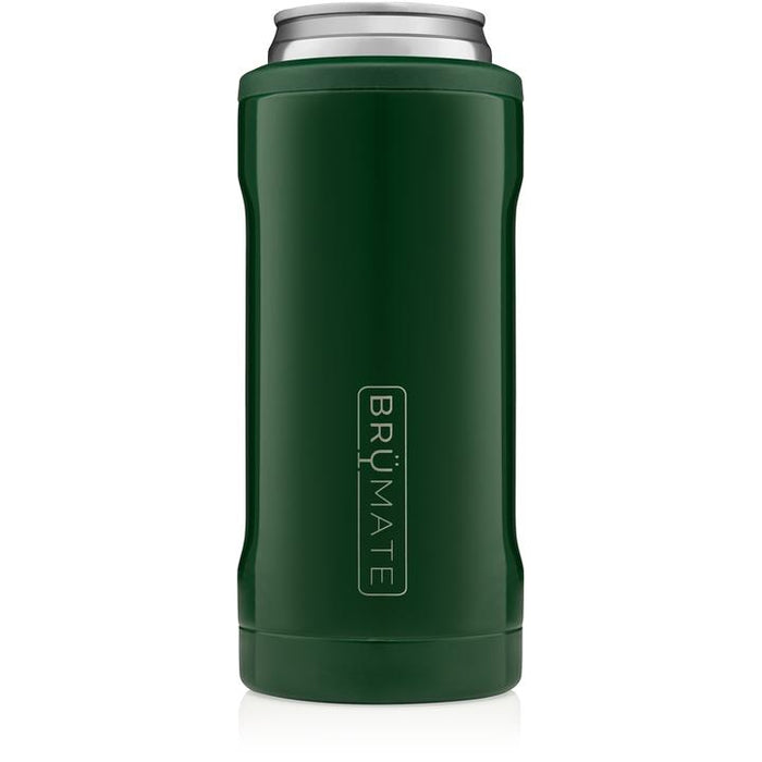 12oz Slim Can Cooler - Emerald Green
