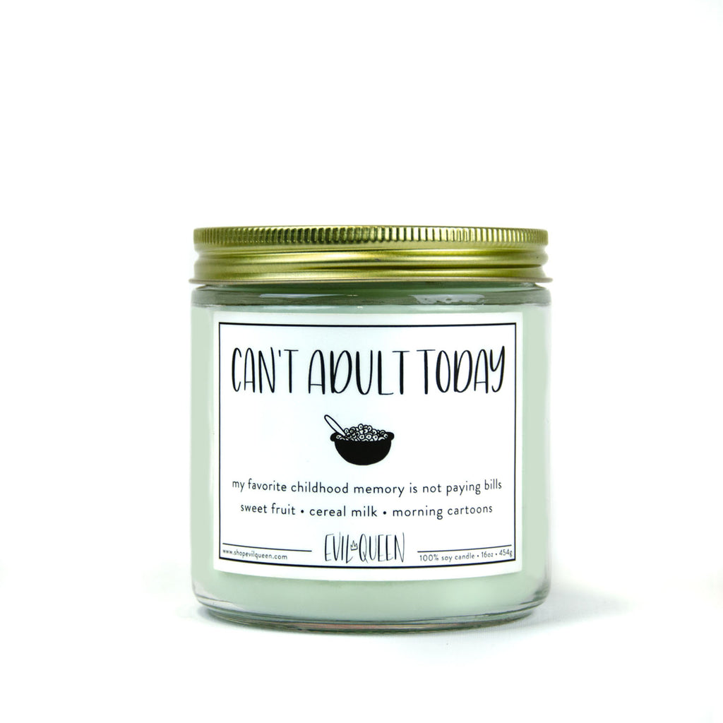 Double Wick - Can't Adult Today 16 oz Candle