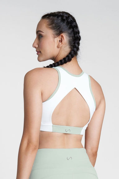 Open Back Sports Bra