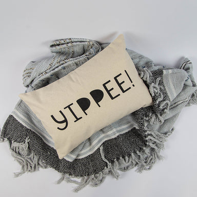 Yippee! 12x18 Canvas Pillow