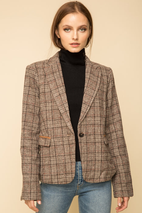 Plaid Schoolboy Blazer
