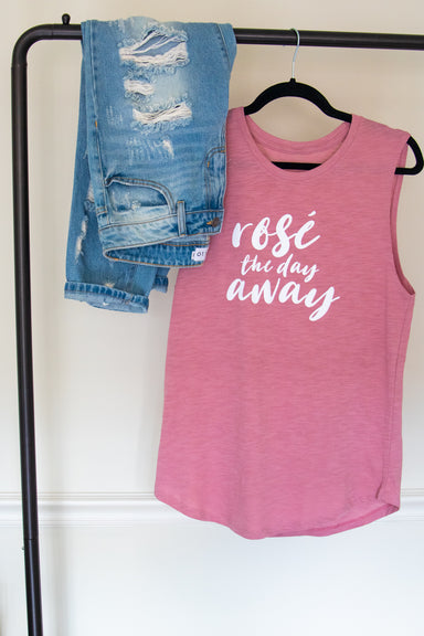 Rosé the Day Away Tank