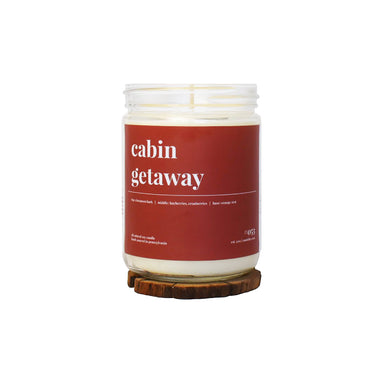 Cabin Getaway Soy Candle - 16oz