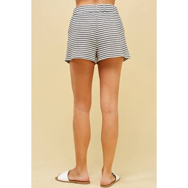 Striped Knit Short