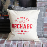 Fall Apple Orchard Pillow