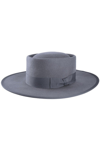 Wool Gambler Hat - Grey