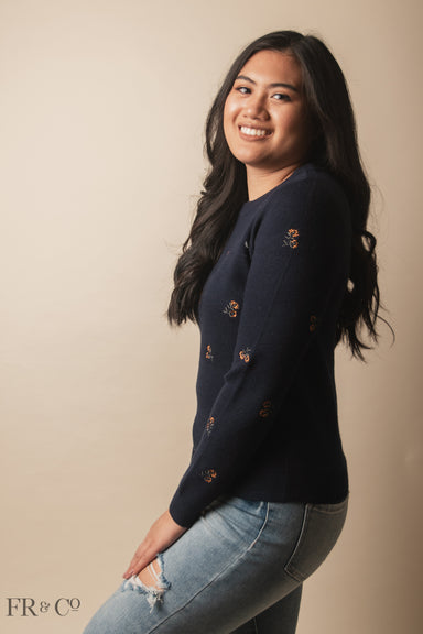 Willow Sweater - Navy