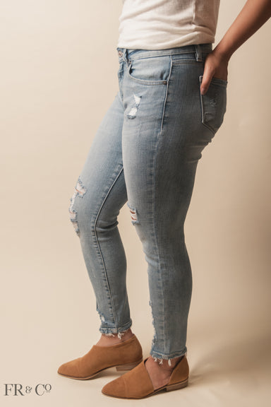 Camille Mid Rise Skinny Jean