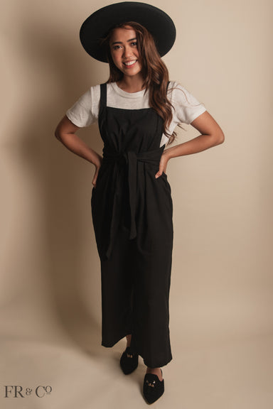 Annabelle Jumpsuit - Black