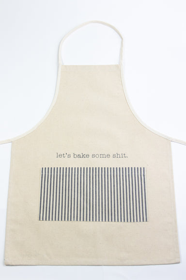 Let's Bake Some Shit Vintage Apron