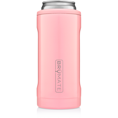 12oz Slim Can Cooler - Blush