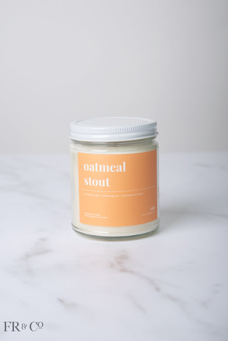 Oatmeal Stout Soy Candle - 9oz