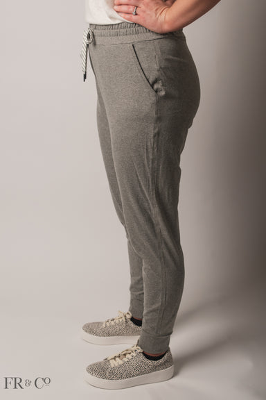 Lounging Jogger - Sage Grey