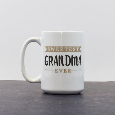 Sweetest Grandma | 15 oz Coffee Mug