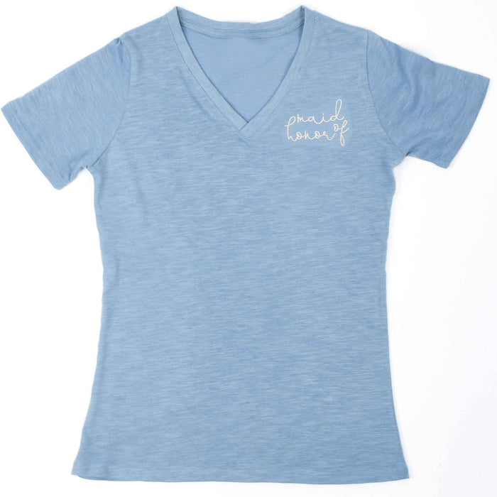 Maid of Honor V-Neck Tee