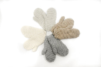 Luxurious Knitted Mittens