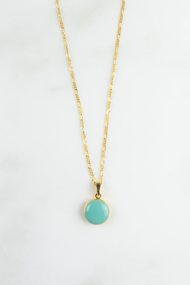 Small Turquoise Locket