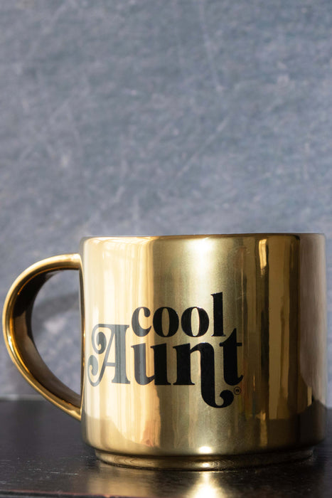 Cool Aunt Gold 16 ounce Coffee Mug