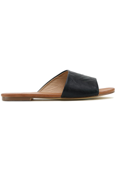 Jean Vegan Leather Sandal