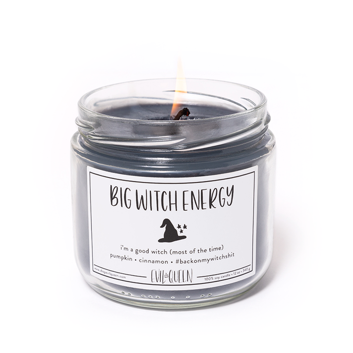 Big Witch Energy Vegan Soy Candle- 12 oz