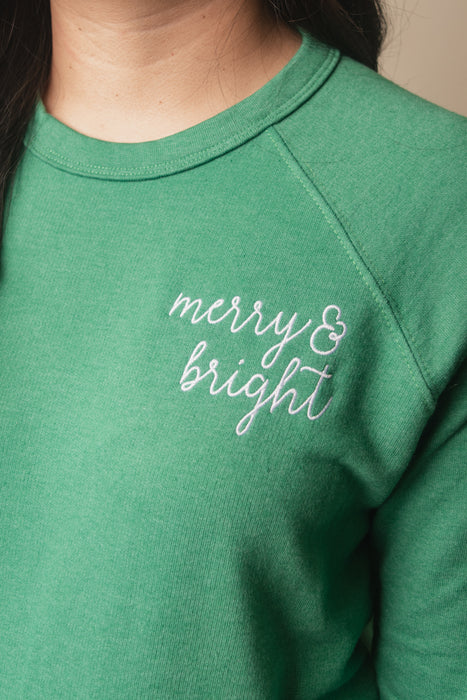 Merry & Bright Christmas Sweatshirt