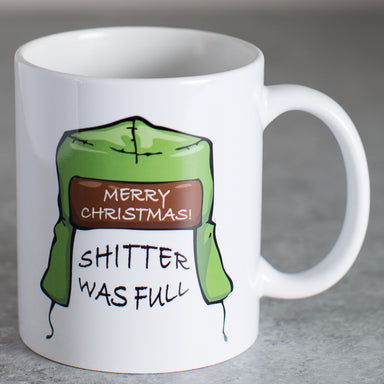 Christmas Vacation - Shitter Was Full Mug