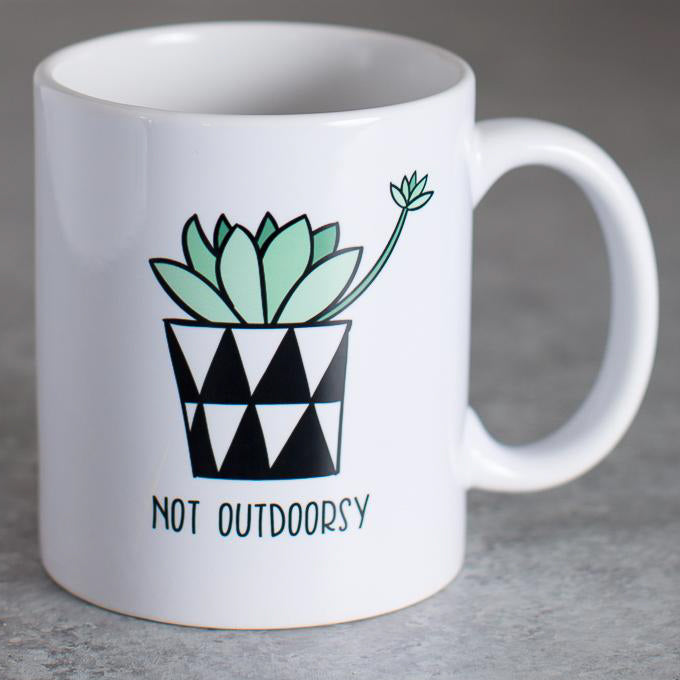 Not Outdoorsy | Coffee Mug
