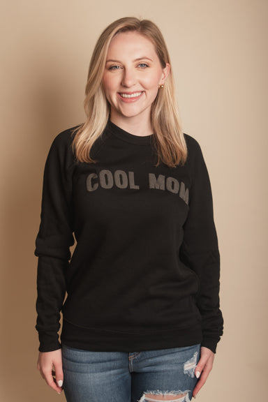 Cool Mom Puff Print Sweatshirt