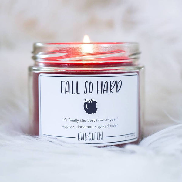 Fall So Hard Candle