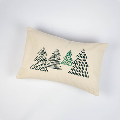 Four Trees 12x18 Lumbar Pillow